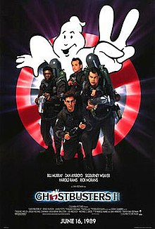 poster Ghostbusters II (1989)