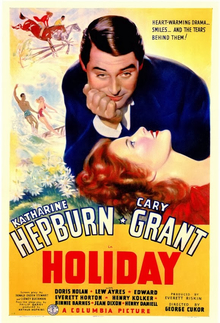 poster Holyday (1938)