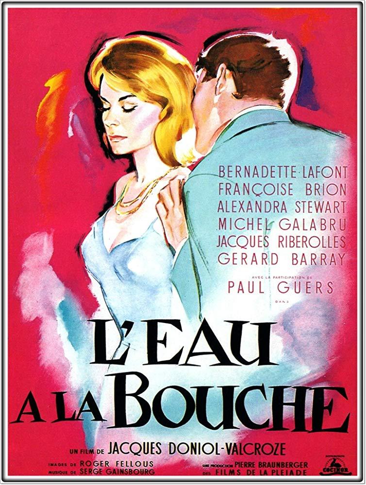 poster L'eau a la bouche (1960)