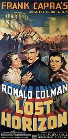poster Lost Horizon (1937)