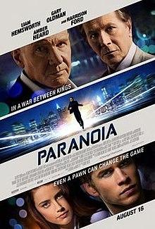 poster Paranoia (2013)