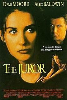 poster The Juror (1996)