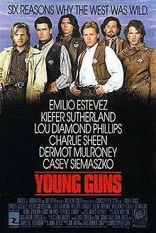 poster Young Guns (1988)