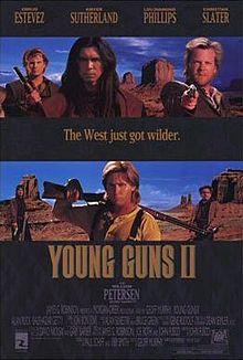 poster Young Guns 2 (1990)