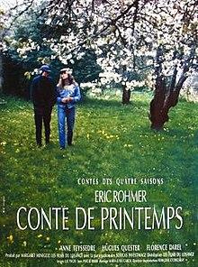 poster Conte de printemps (1990)