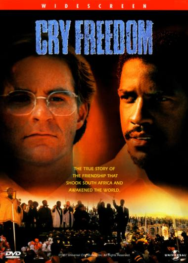 poster Cry Freedom (1987)