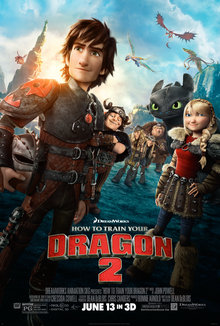 poster How to Train Your Dragon 2 (2014)