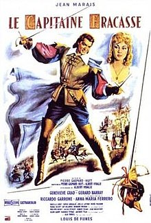 poster Le capitaine Fracasse (1961)