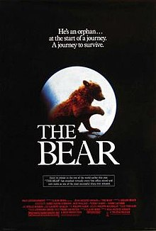 poster L'ours (1988)