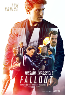 poster Mission Impossible - Fallout (2018)