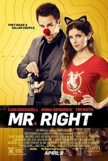 poster Mr. Right (2015)