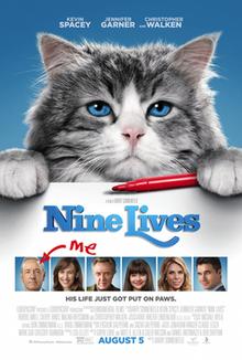 poster Nine Lives (2016)