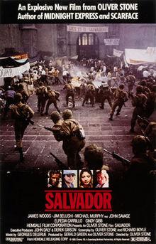 poster Salvador (1986)