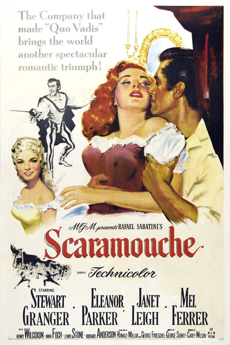 poster Scaramouche (1952)