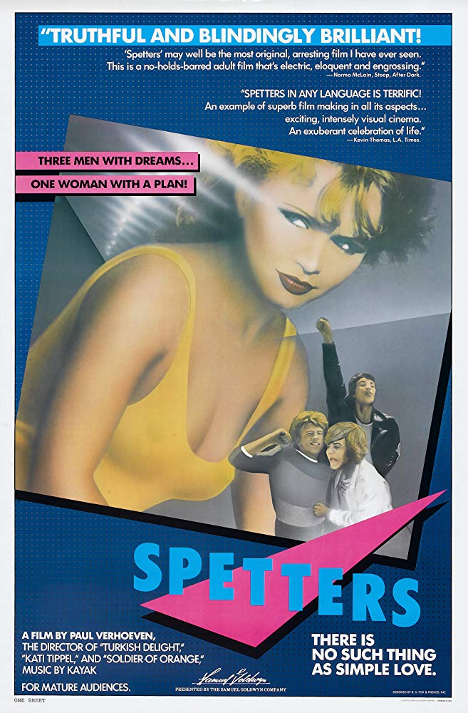 poster Spetters (1980)