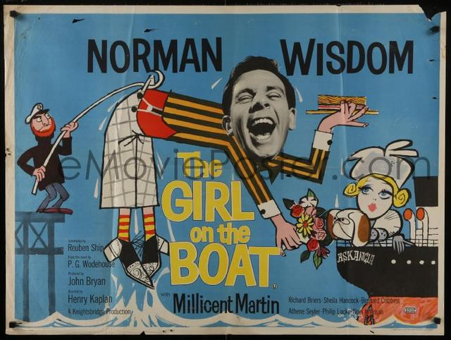 poster The Girl on the Boat (1962)