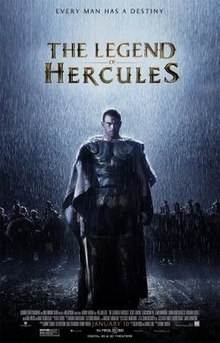 poster The Legend of Hercules (2014)