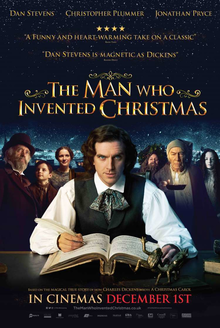 poster The Man Who Invented Christmas (2017)