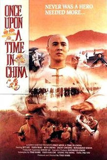 poster Wong Fei Hung - Once Upon a Time in China (1991)