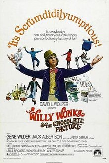 pposter Willy Wonka & the Chocolate Factory (1971)