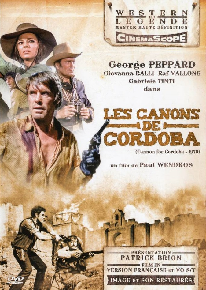 poster poster Cannon for Cordoba (1970)