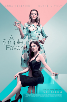 poster A Simple Favor (2018)
