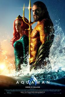 poster Aquaman (2018)