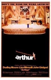 poster Arthur (1981)