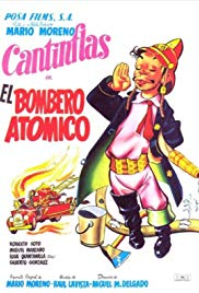 poster El bombero atomico (1952)