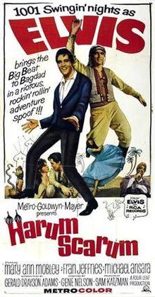 poster Harum Scarum (1965)
