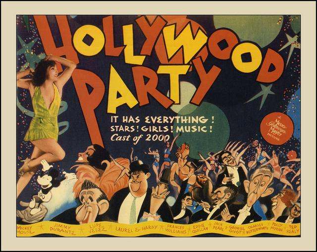 poster Hollywood Party (1934)