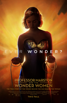 poster Professor Marston and the Wonder Women (2017)