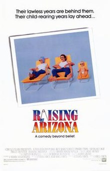 poster Raising Arizona (1987)