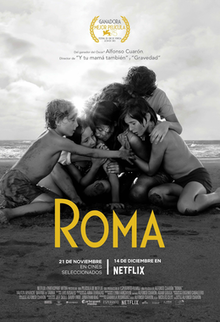 poster Roma (2018)