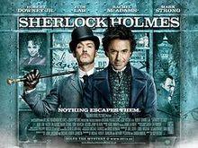 poster Sherlock Holmes (2009)
