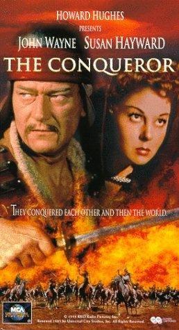 poster The Conqueror (1956)