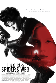 poster The Girl in the Spider's Web (2018)