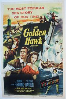 poster The Golden Hawk (1952)