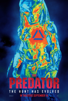 poster The Predator (2018)