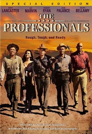 poster The Professionals (1966)
