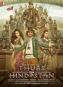 poster Thugs of Hindostan (2018)