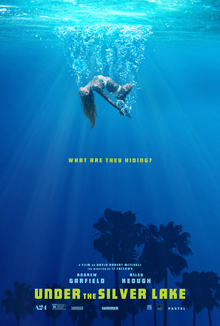 poster Under the Silver Lake (2018)