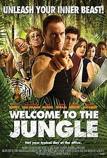 poster Welcome to the Jungle (2013)