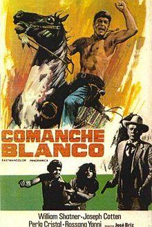 poster White Comanche (1968)