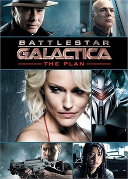 poster Battlestar Galactica The Plan (Video 2009)