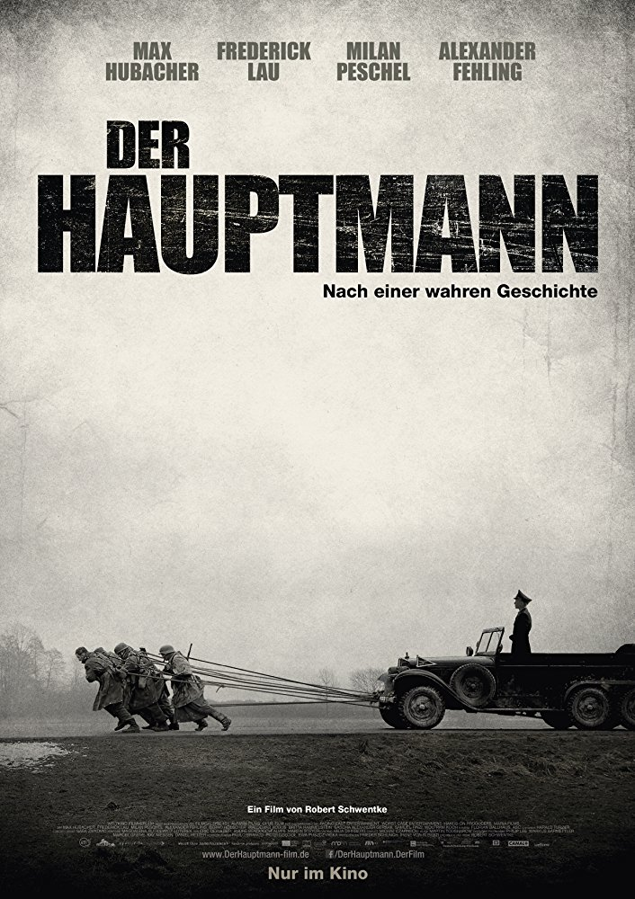 poster Der Hauptmann AKA The Captain (2017)