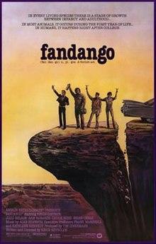 poster Fandango (1985)
