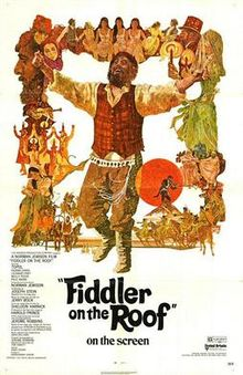 poster Fiddler on the Roof (1971)