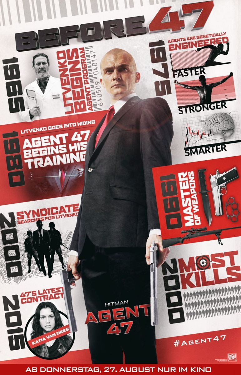 poster Hitman Agent 47 (2015)