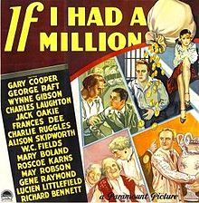 poster If I Had a Million (1932)